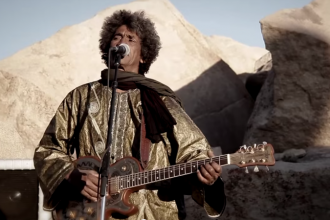NOrth African Band Tiariwen from their new album Emmaar, song Islegh Teghram Tifhamam