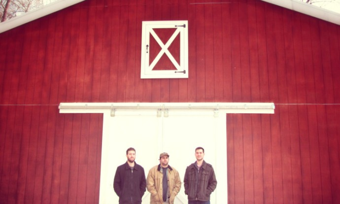 All Talk chills in front of a barn.