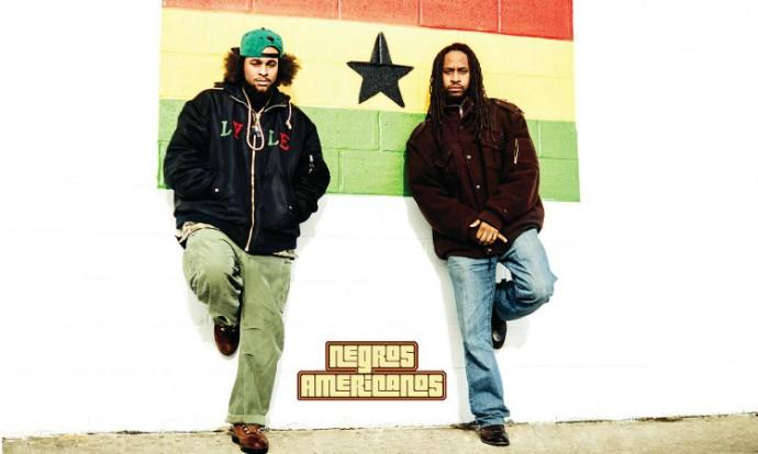 Negros Americanos, NJ-based bilinigual hip hop duo.