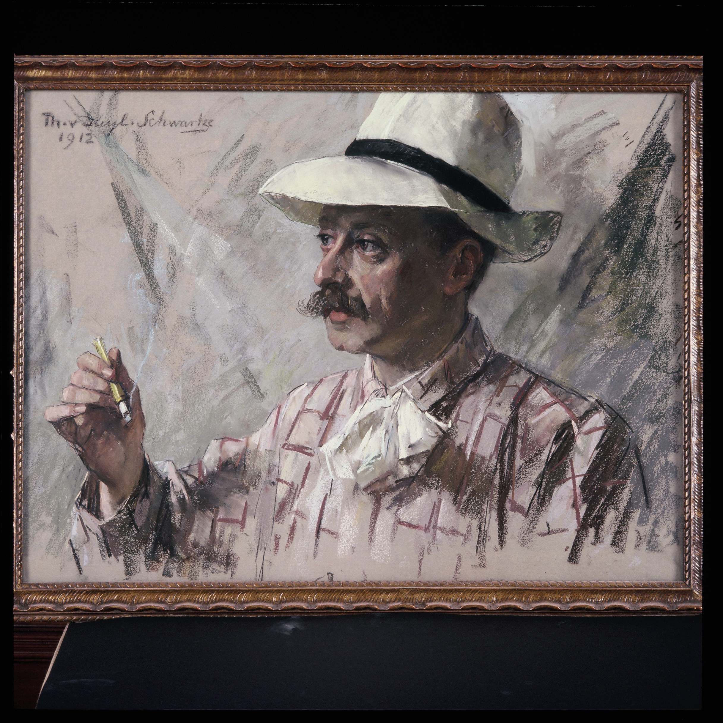 Portrait of Salomon Benjamin Druif, 1912 Pastel on paper, 55 x 80 cm Private collection, Photograph: Thijs Quispel View full size