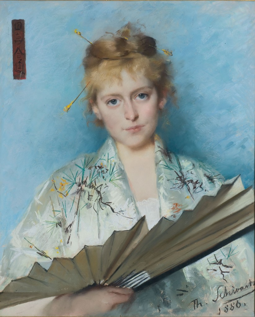 Portrait of Maria Catharina Ursula (Mia) Cuypers, 1886.