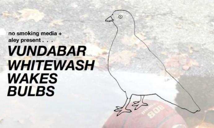 Vundabar, Whitewash, Wakes, Bulbs @ Palisades