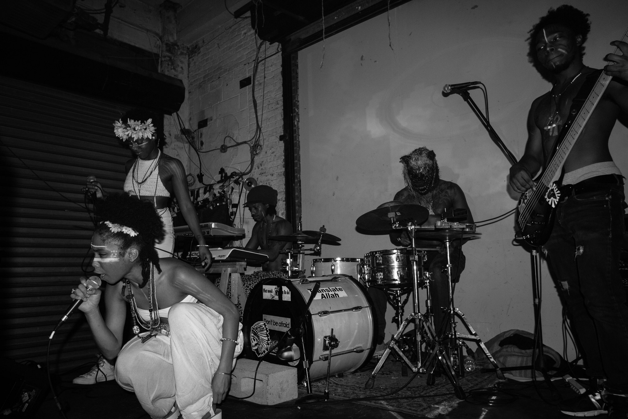 OSHUN for No Smoking media in NYC Brooklyn band