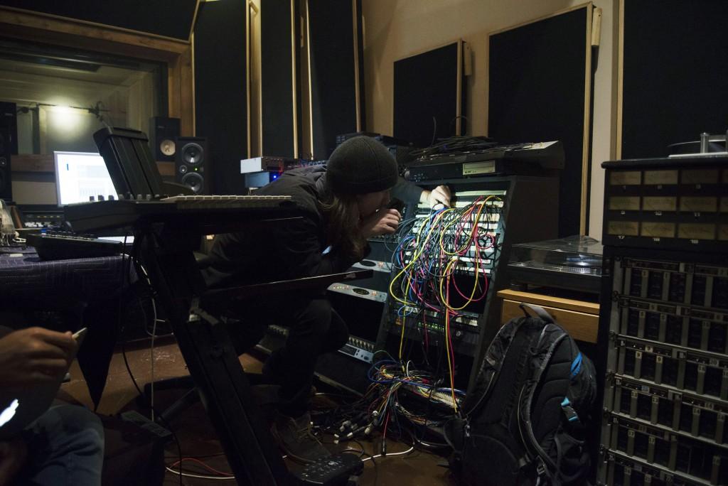 Engineerin' (photo by Olivia Pasquarelli)