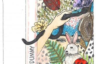 sun dummy: bunny